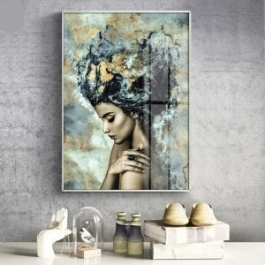 Girl Canvas Painting